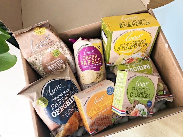 Glutenvrije winactie: maak 3 x kans op een Leev pakket