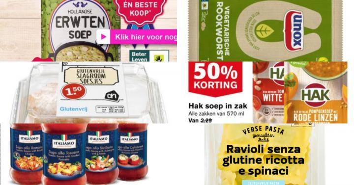 Glutenvrije aanbiedingen week 42 2018
